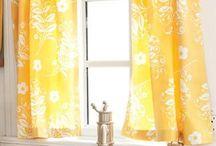 Window treatments / by Kimberly Poff
