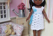 Poupées Paola Reina / Mes créations au crochet pour les poupées Paola Reina : Patrons et tenues disponibles dans ma boutique