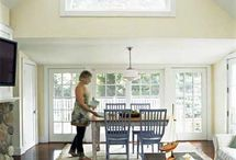 dream home / Love the open feel with the older home look. Lots of natural light is the way to go!