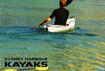Aquatic Activities • Australian Adventure / Kayaking • Surfing • Surf Skiing • Water Skiing • SCUBA • Swimming / by Visit Australia