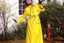 raincoat / pvc