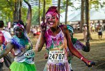 The color run !