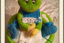 Diapercake Prince frog from want it 48 euro