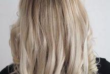 HAIR | blonde hair & hairdos