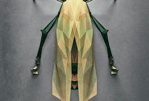 벌레,동물