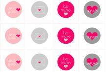 Love/Hearts/Valentine Day