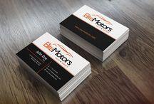 Car Dealer business cards ( Araba Satıcısı)