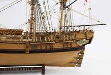 Historické Plachetnice / modely historických plachetnic