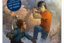 Percy Jackson meets Carter Kane / And now Magnus Chase  All by Rick Riordan / by Lauren Lemmons
