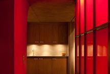 Colour inspiration: Reds and pinks / Some bright and bold ideas from Lionel Jadot's projects