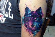 Tatuaje colorate