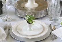 Tablescapes / Lovely table settings