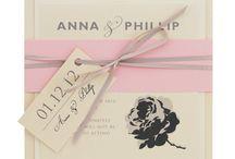 Pink wedding invitations / Pink wedding stationery