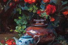 dipinti fiori