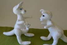 Free Kangaroo Crochet Patterns / by Sharon Ojala
