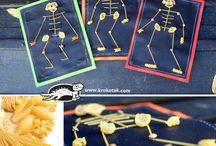knutselen met pasta
