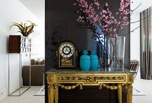 Florals & Interiors / Flowers in the home. Spaces we LOVE!