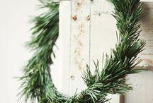 Jul og nisser,gran