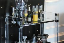 Lucite bar / by Shirley Serure Photography