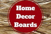 Home Decor Boards> / A group of boards full of inspiration for every room
