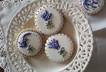 Cookies da Provence / Cookies decorados