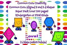 Pre Primary 2D/ 3D shapes
