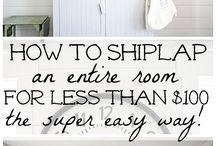 Ship lap cheaply