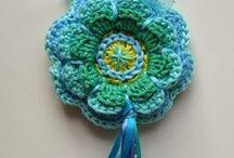 crochet key hanger