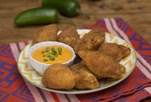 Croquetas de yuca y queso