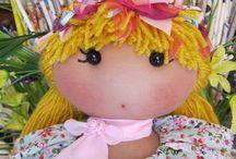 Bambole-Lucia  Oshiro / Bambole in stoffa (bonecas de pano) Modello Unico(personale) fatto io.