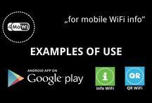 4MoWi - Youtube https://www.youtube.com/user/4MoWi / EXAMPLES OF USE WiFi DOMAINS