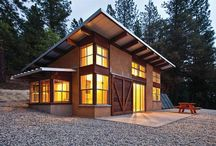 Eco Architecture / Different examples of eco buildings, and homes