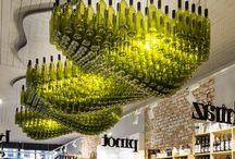 Lamps for wine lovers / Lamparas para amantes del vino Lampen für weinliebhaber Lampes pour les amateurs de vin