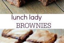 Cookies, brownies, fudge, bars