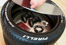 Automotive Deco Idea
