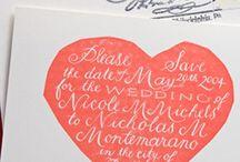 Wedding Stationery / by Kylie Williams