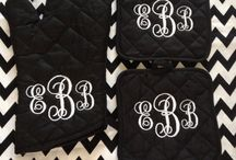 If it's not moving Monogram it! / by Rebekah Tosh