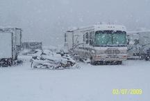 Motorhome camping