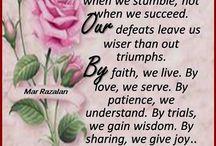 My Prayer, My Inspiration