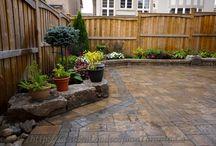 My backyard design