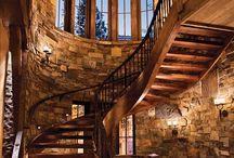 Reclaimed Wood Stair Treads