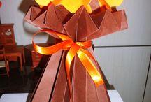 Vaso plissado de papel