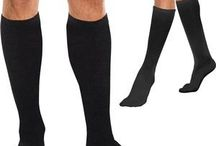 Compression Socks / Compression Socks, Available in Black, White or Nude Colors as well as a few special colors