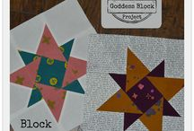 The Goddess Block Project / FREE Quilt Blocks