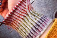 Twined Knitting / Tvåändsstickning