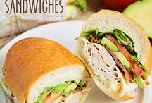 Picnic club sandwiches / Sandwiches