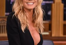 """Heidi Klum """" Mannequin """" / Un des mannequin des plus célèbres dans le monde d'origine germano - américaine."""