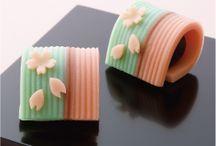 Wagashi; Japanese sweets / Japanese sweets