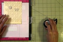 MISTI cardmaking TOOL / by Joan Green