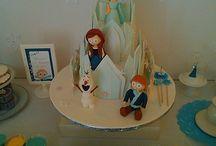 3º aniversário Ana I Ana's 3rd bithday party / Frozen, Elsa e Anna e azul  Frozen, Elsa and Anna and blue